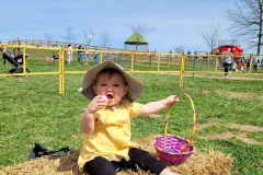 Girl-with-Easter-Basket-and-egg