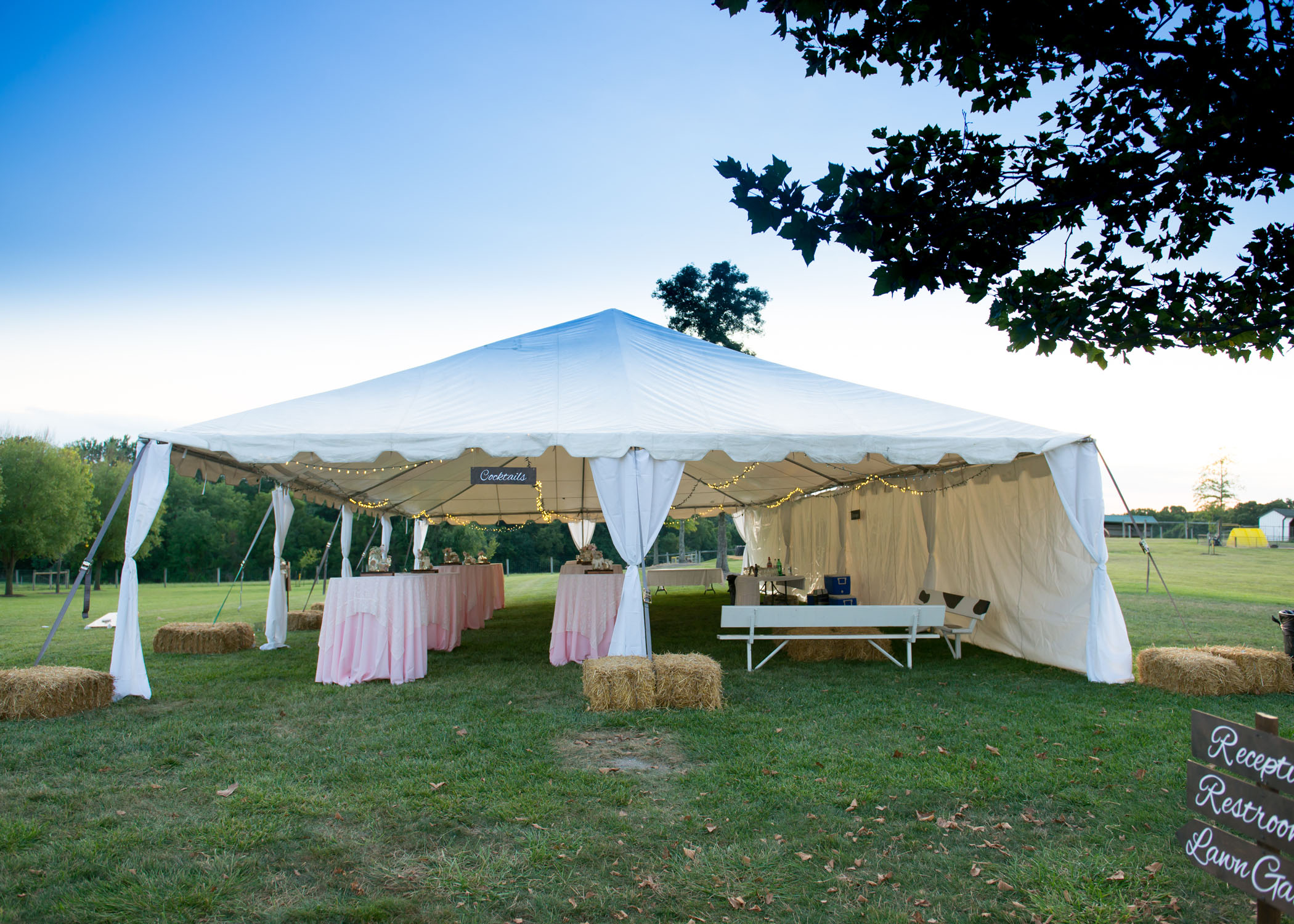 Cocktail Tent