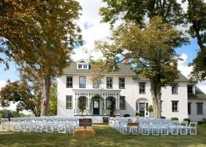 Manor House Porch Wedding