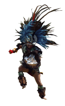 dancing Indian